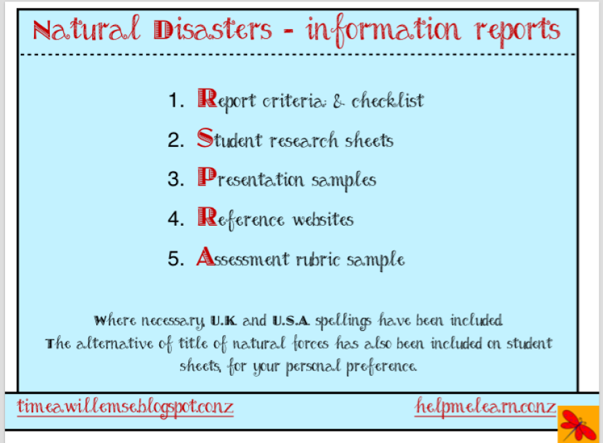 Websites About Natural Disaster