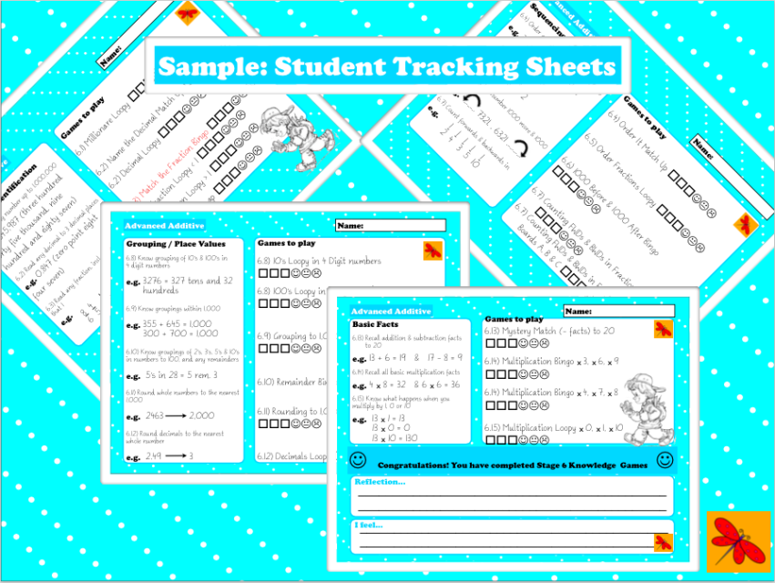 Numeracy worksheets year 6